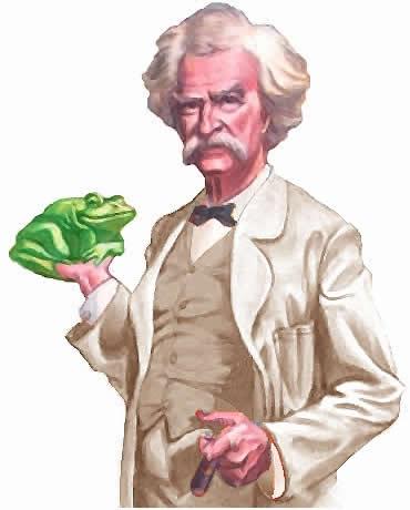 Twain-frog